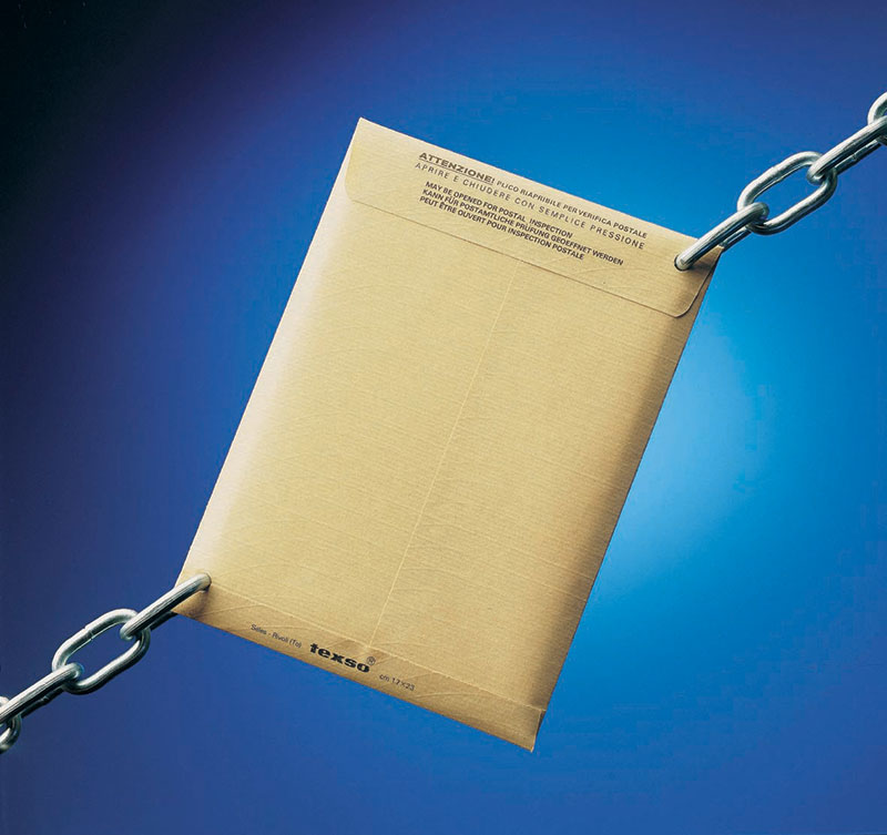Reinforced and waterproof paper envelopes sales