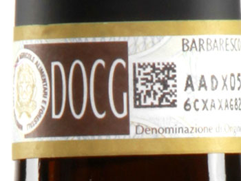 Biadesivo vino DOC