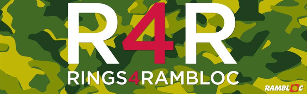 Rings 4 Rambloc: blocchi spiralati personalizzati con copertine ad anelli