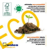 Eco-friendly FSC labels