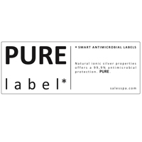 Pure label: antibacterial label