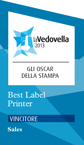 Best label printing La Vedovella 2013