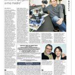 l'articolo dedicato al creativo Marco Rubiola apparso sulle pagine di Repubblica