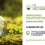 """""""Innovazione e sviluppo sostenibile"""" ITS Agroalimentare per il piemonte"""